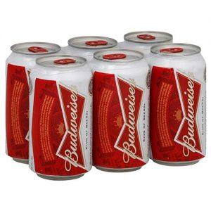 Budweiser 6pk Can